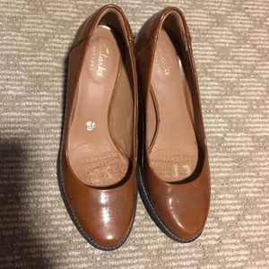 Fairly new Clark heels